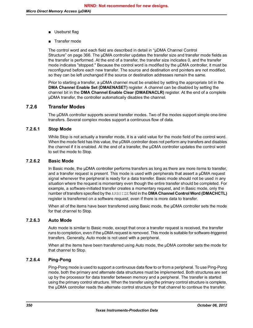 LM3S9BN6-IQC80-C3 ,Texas Instruments厂商,IC ARM CORTEX MCU 256KB 100LQFP, LM3S9BN6-IQC80-C3 datasheet预览  第350页
