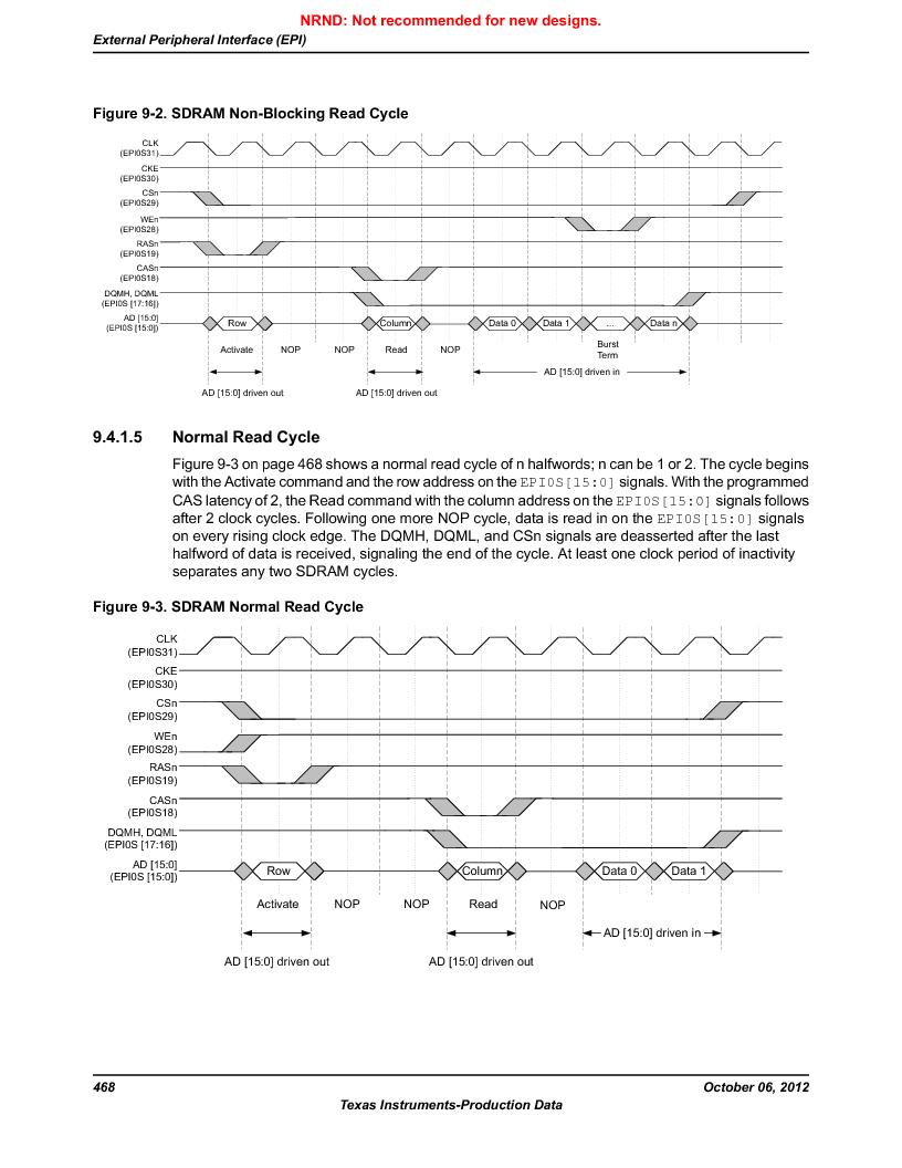 LM3S9BN6-IQC80-C3 ,Texas Instruments厂商,IC ARM CORTEX MCU 256KB 100LQFP, LM3S9BN6-IQC80-C3 datasheet预览  第468页