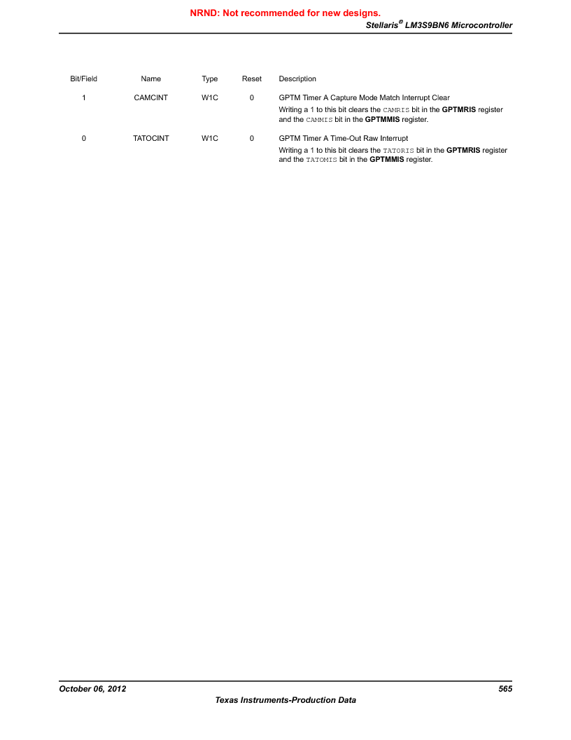 LM3S9BN6-IQC80-C3 ,Texas Instruments厂商,IC ARM CORTEX MCU 256KB 100LQFP, LM3S9BN6-IQC80-C3 datasheet预览  第565页