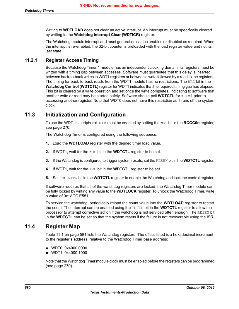 LM3S9BN6-IQC80-C3 ,Texas Instruments厂商,IC ARM CORTEX MCU 256KB 100LQFP, LM3S9BN6-IQC80-C3 datasheet预览  第580页