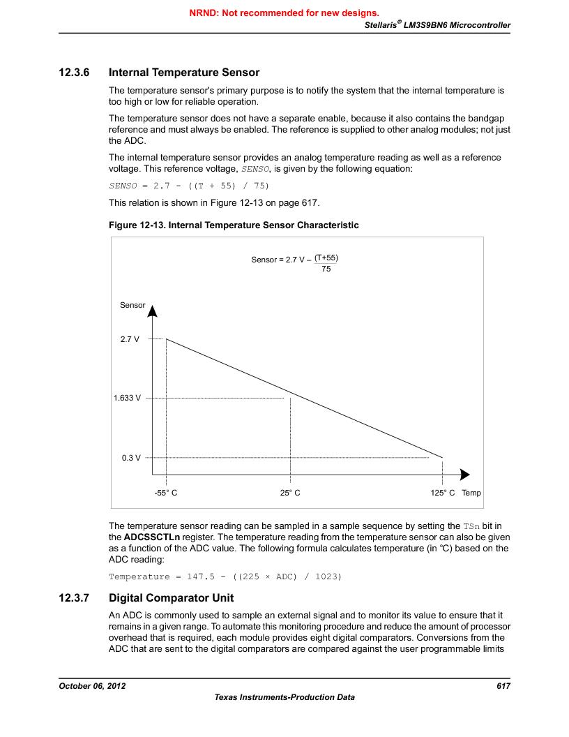 LM3S9BN6-IQC80-C3 ,Texas Instruments厂商,IC ARM CORTEX MCU 256KB 100LQFP, LM3S9BN6-IQC80-C3 datasheet预览  第617页