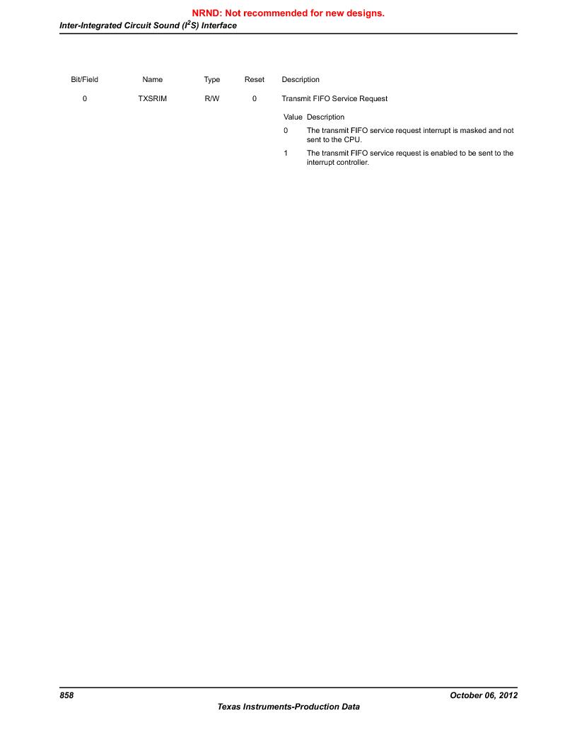 LM3S9BN6-IQC80-C3 ,Texas Instruments厂商,IC ARM CORTEX MCU 256KB 100LQFP, LM3S9BN6-IQC80-C3 datasheet预览  第858页