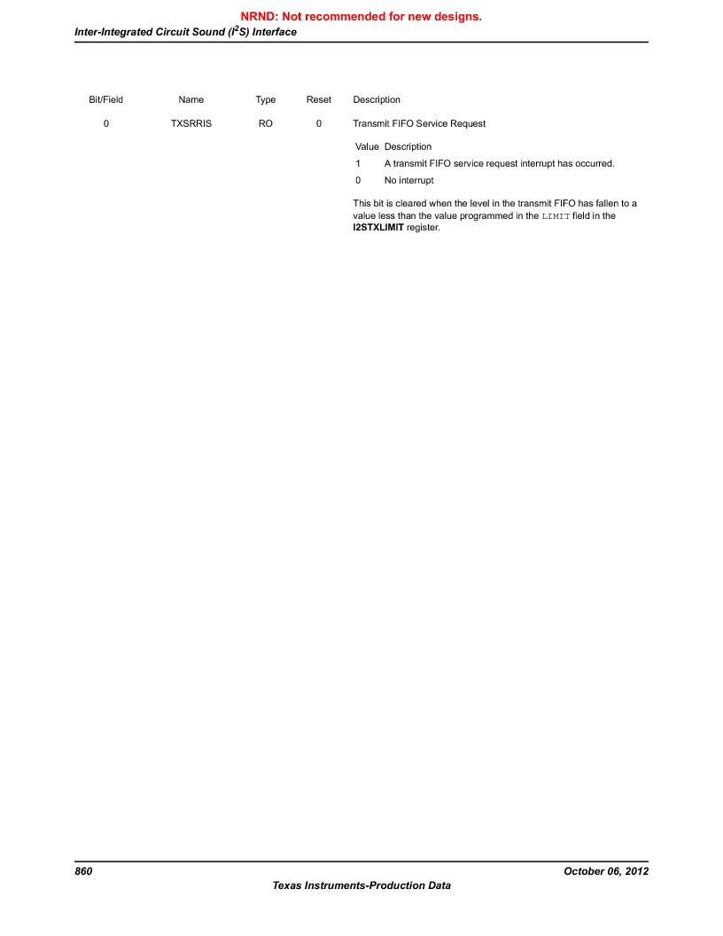LM3S9BN6-IQC80-C3 ,Texas Instruments厂商,IC ARM CORTEX MCU 256KB 100LQFP, LM3S9BN6-IQC80-C3 datasheet预览  第860页