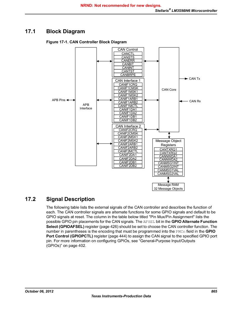 LM3S9BN6-IQC80-C3 ,Texas Instruments厂商,IC ARM CORTEX MCU 256KB 100LQFP, LM3S9BN6-IQC80-C3 datasheet预览  第865页