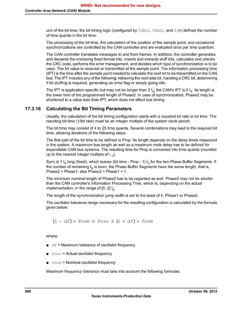 LM3S9BN6-IQC80-C3 ,Texas Instruments厂商,IC ARM CORTEX MCU 256KB 100LQFP, LM3S9BN6-IQC80-C3 datasheet预览  第880页