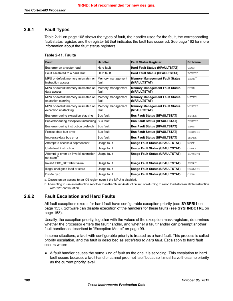 LM3S9U92-IBZ80-A2 ,Texas Instruments厂商,IC ARM CORTEX MCU 384KB 108NFBGA, LM3S9U92-IBZ80-A2 datasheet预览  第108页