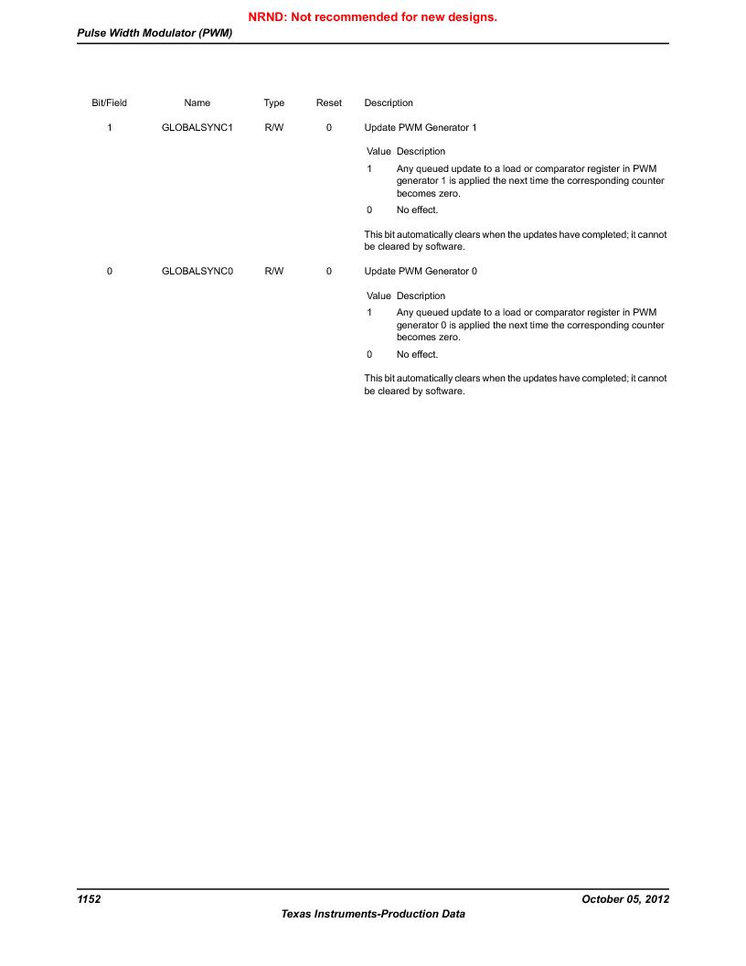 LM3S9U92-IBZ80-A2 ,Texas Instruments厂商,IC ARM CORTEX MCU 384KB 108NFBGA, LM3S9U92-IBZ80-A2 datasheet预览  第1152页