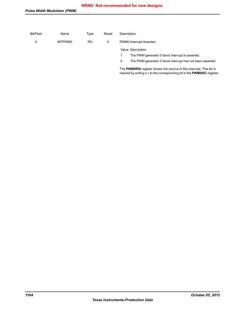 LM3S9U92-IBZ80-A2 ,Texas Instruments厂商,IC ARM CORTEX MCU 384KB 108NFBGA, LM3S9U92-IBZ80-A2 datasheet预览  第1164页