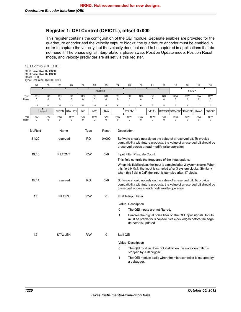 LM3S9U92-IBZ80-A2 ,Texas Instruments厂商,IC ARM CORTEX MCU 384KB 108NFBGA, LM3S9U92-IBZ80-A2 datasheet预览  第1220页