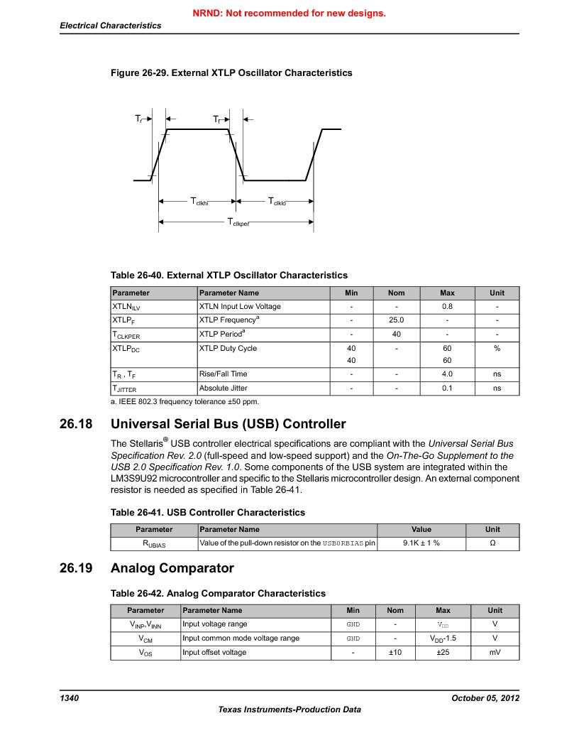 LM3S9U92-IBZ80-A2 ,Texas Instruments厂商,IC ARM CORTEX MCU 384KB 108NFBGA, LM3S9U92-IBZ80-A2 datasheet预览  第1340页