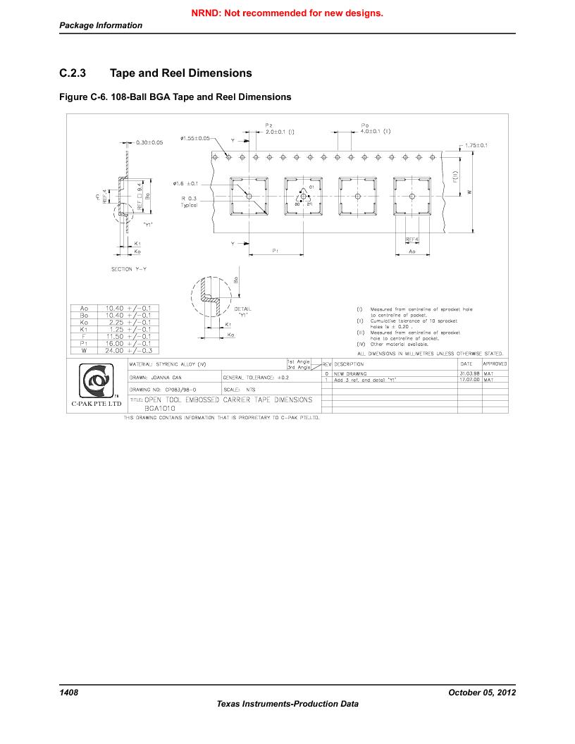 LM3S9U92-IBZ80-A2 ,Texas Instruments厂商,IC ARM CORTEX MCU 384KB 108NFBGA, LM3S9U92-IBZ80-A2 datasheet预览  第1408页
