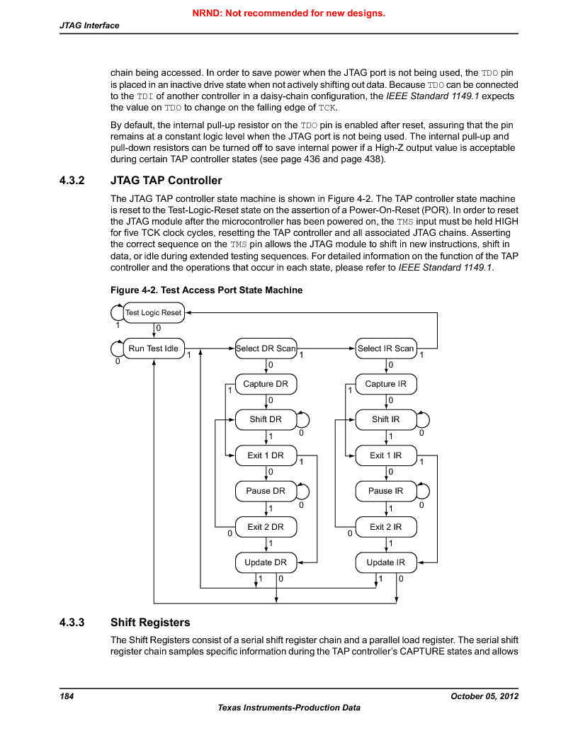 LM3S9U92-IBZ80-A2 ,Texas Instruments厂商,IC ARM CORTEX MCU 384KB 108NFBGA, LM3S9U92-IBZ80-A2 datasheet预览  第184页
