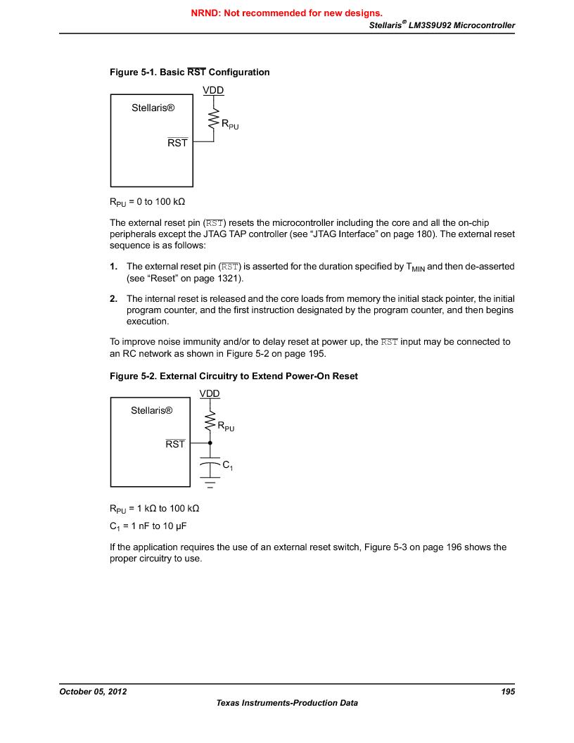 LM3S9U92-IBZ80-A2 ,Texas Instruments厂商,IC ARM CORTEX MCU 384KB 108NFBGA, LM3S9U92-IBZ80-A2 datasheet预览  第195页