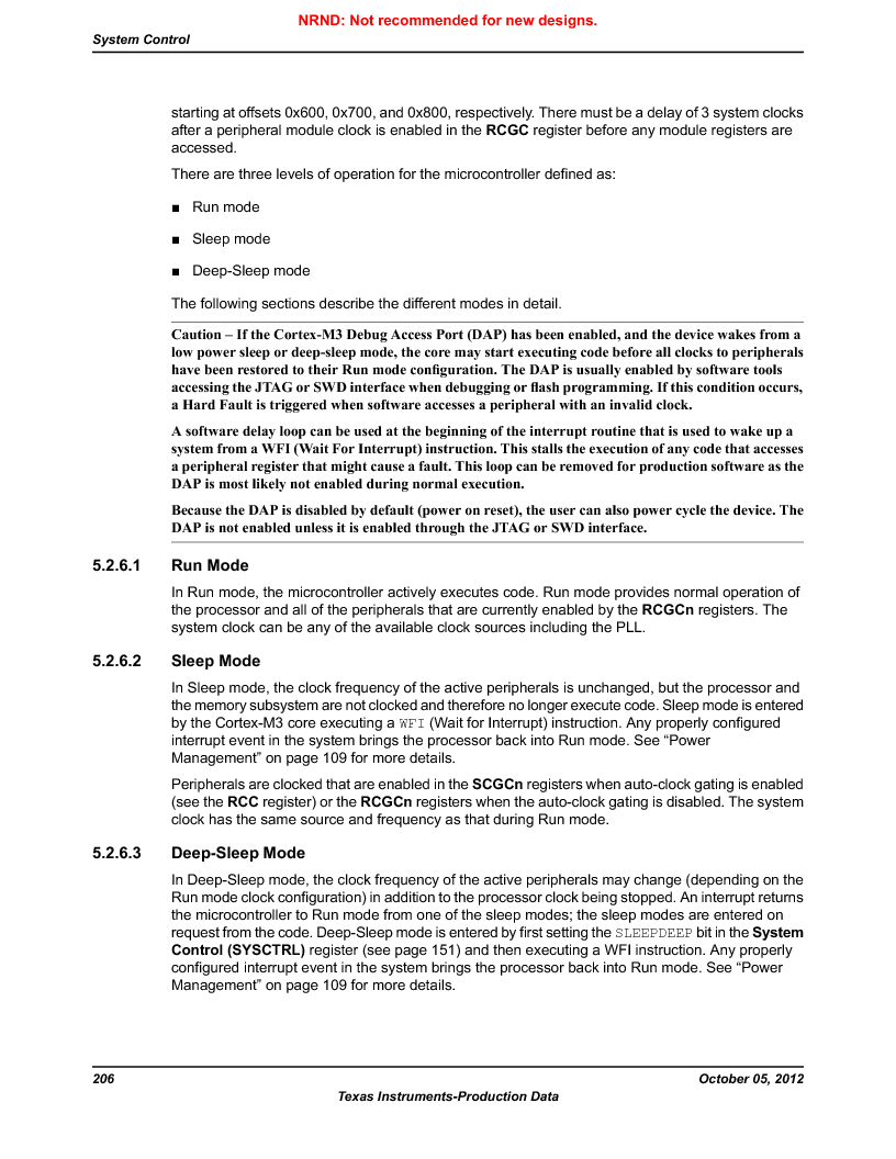 LM3S9U92-IBZ80-A2 ,Texas Instruments厂商,IC ARM CORTEX MCU 384KB 108NFBGA, LM3S9U92-IBZ80-A2 datasheet预览  第206页