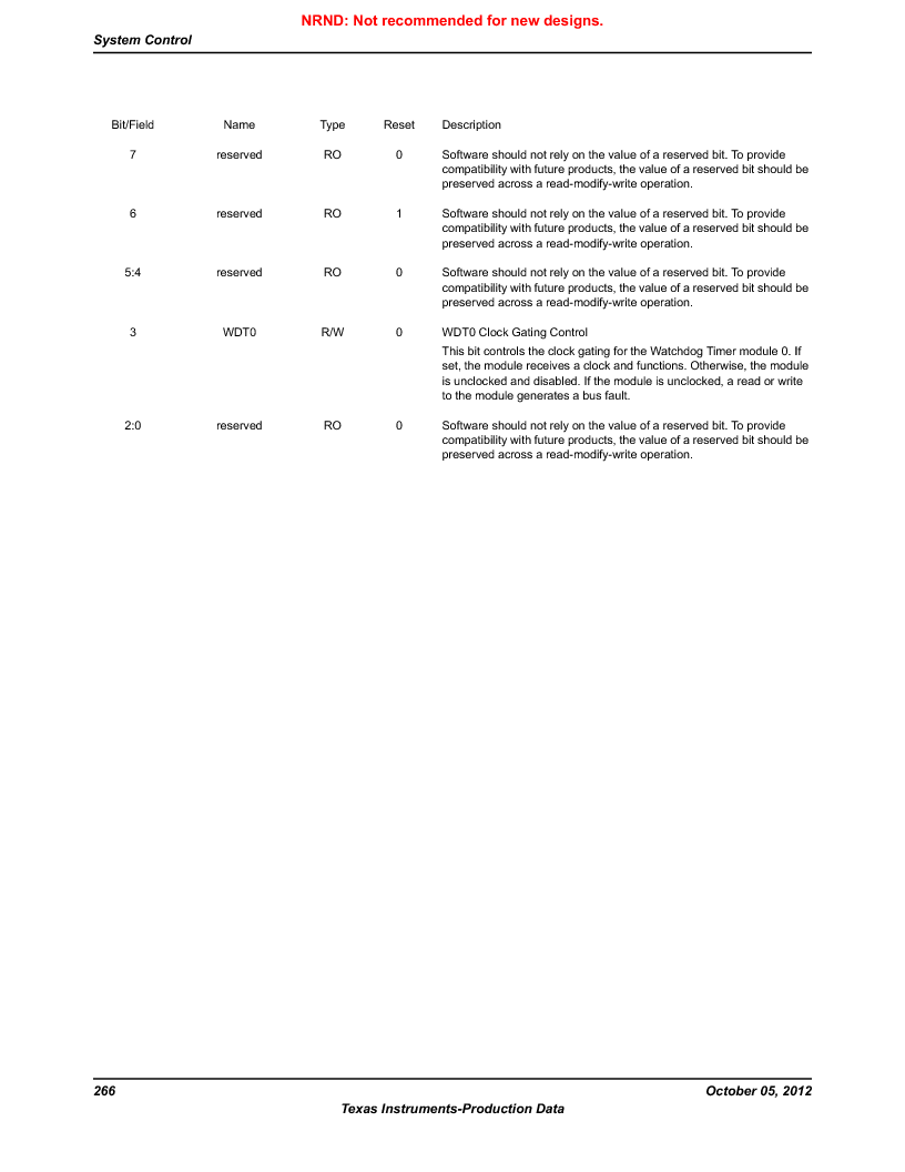 LM3S9U92-IBZ80-A2 ,Texas Instruments厂商,IC ARM CORTEX MCU 384KB 108NFBGA, LM3S9U92-IBZ80-A2 datasheet预览  第266页