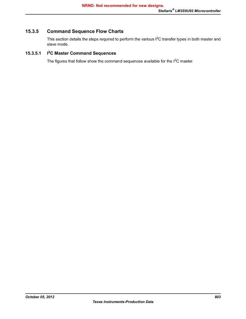LM3S9U92-IBZ80-A2 ,Texas Instruments厂商,IC ARM CORTEX MCU 384KB 108NFBGA, LM3S9U92-IBZ80-A2 datasheet预览  第803页