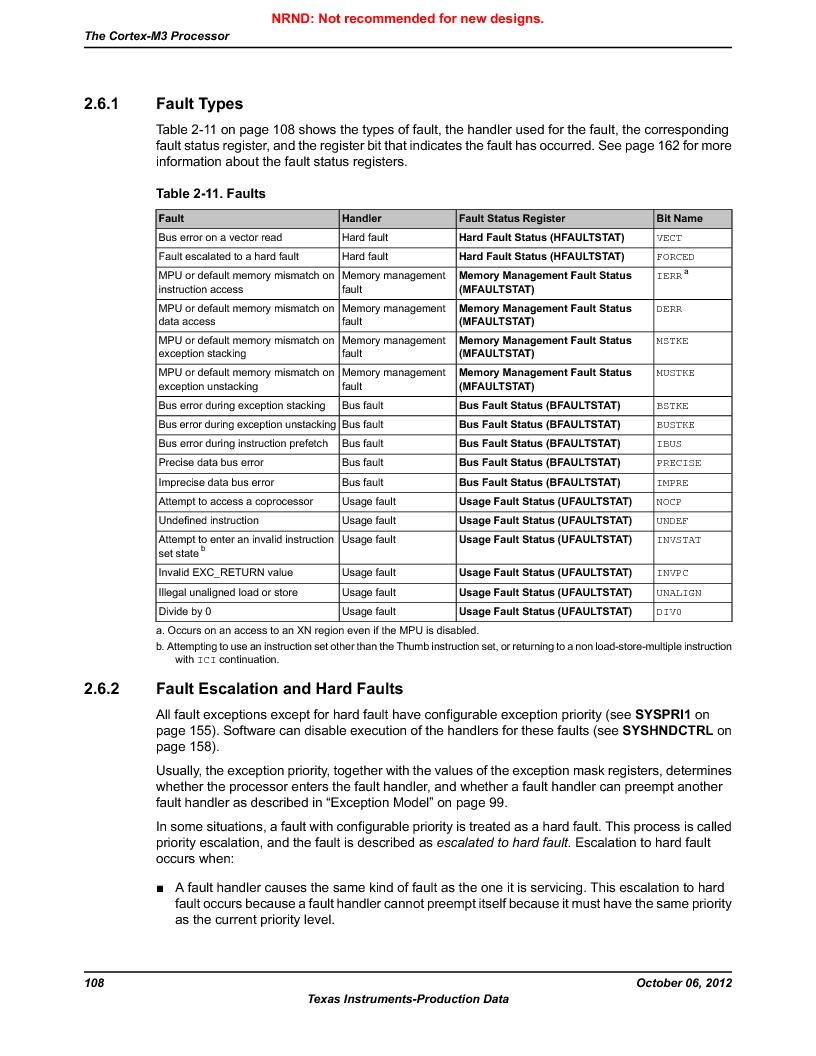 LM3S9U96-IBZ80-A1T ,Texas Instruments厂商,IC ARM CORTEX MCU 384KB 108NFBGA, LM3S9U96-IBZ80-A1T datasheet预览  第108页