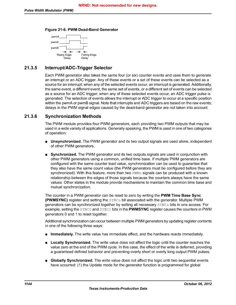 LM3S9U96-IBZ80-A1T ,Texas Instruments厂商,IC ARM CORTEX MCU 384KB 108NFBGA, LM3S9U96-IBZ80-A1T datasheet预览  第1144页