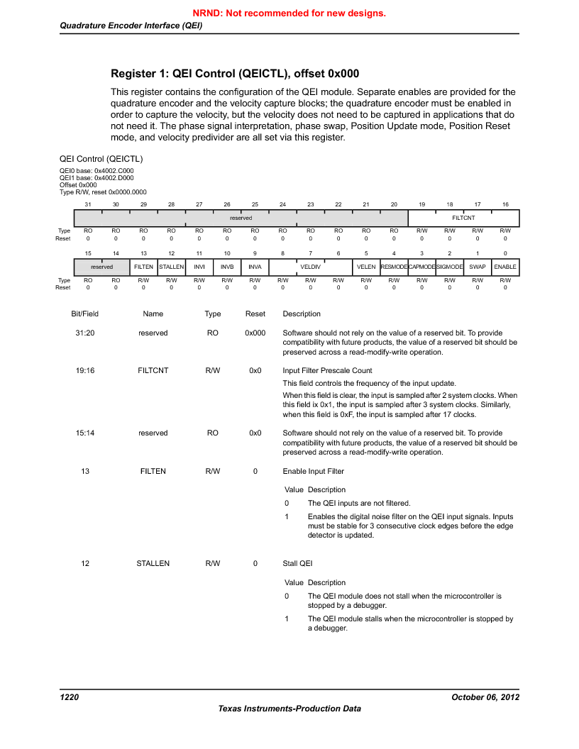 LM3S9U96-IBZ80-A1T ,Texas Instruments厂商,IC ARM CORTEX MCU 384KB 108NFBGA, LM3S9U96-IBZ80-A1T datasheet预览  第1220页