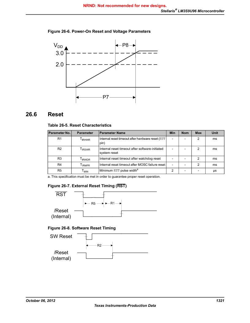 LM3S9U96-IBZ80-A1T ,Texas Instruments厂商,IC ARM CORTEX MCU 384KB 108NFBGA, LM3S9U96-IBZ80-A1T datasheet预览  第1321页