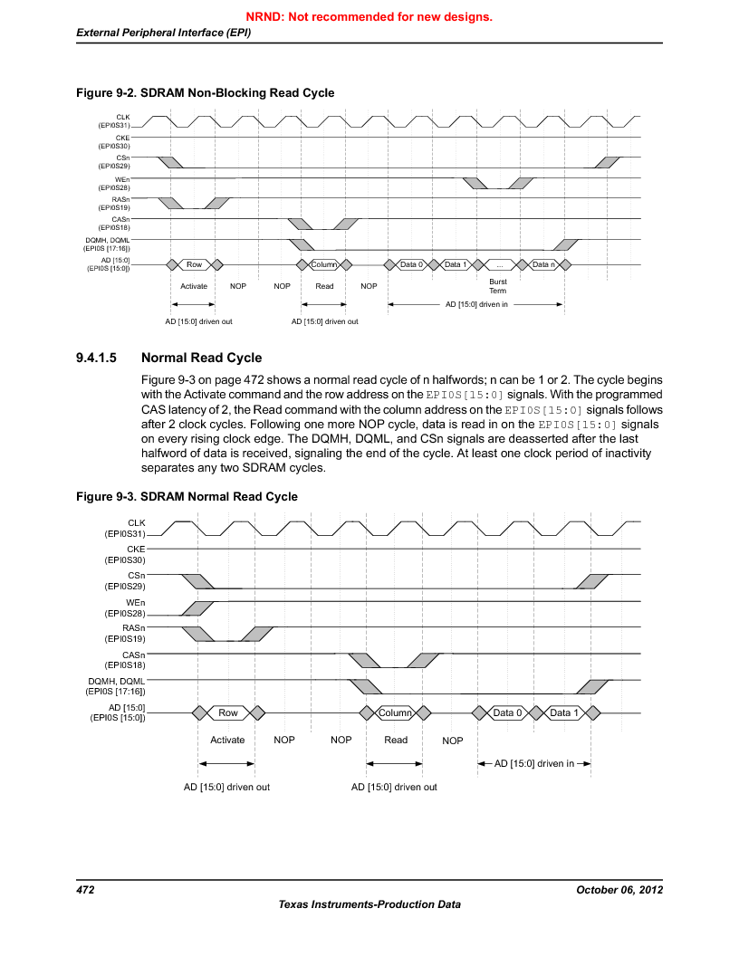 LM3S9U96-IBZ80-A1T ,Texas Instruments厂商,IC ARM CORTEX MCU 384KB 108NFBGA, LM3S9U96-IBZ80-A1T datasheet预览  第472页