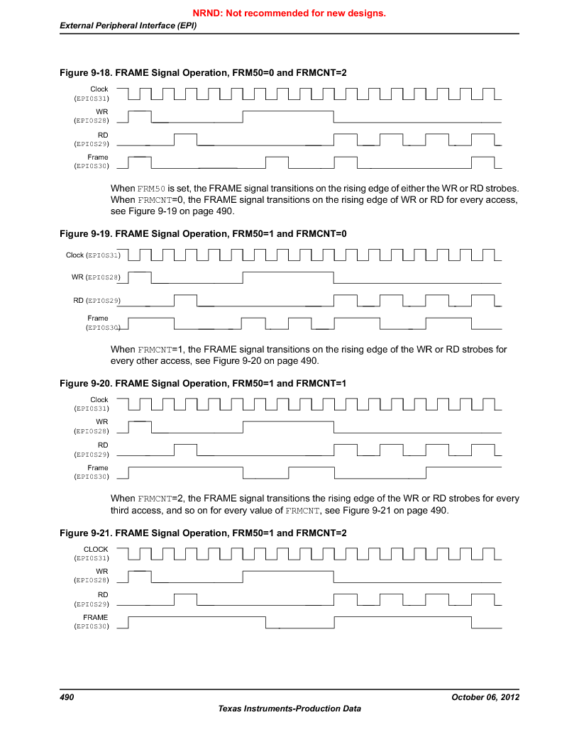LM3S9U96-IBZ80-A1T ,Texas Instruments厂商,IC ARM CORTEX MCU 384KB 108NFBGA, LM3S9U96-IBZ80-A1T datasheet预览  第490页