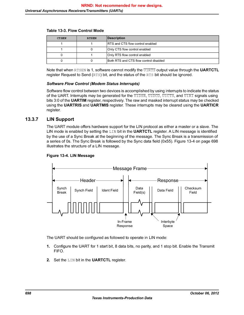 LM3S9U96-IBZ80-A1T ,Texas Instruments厂商,IC ARM CORTEX MCU 384KB 108NFBGA, LM3S9U96-IBZ80-A1T datasheet预览  第698页