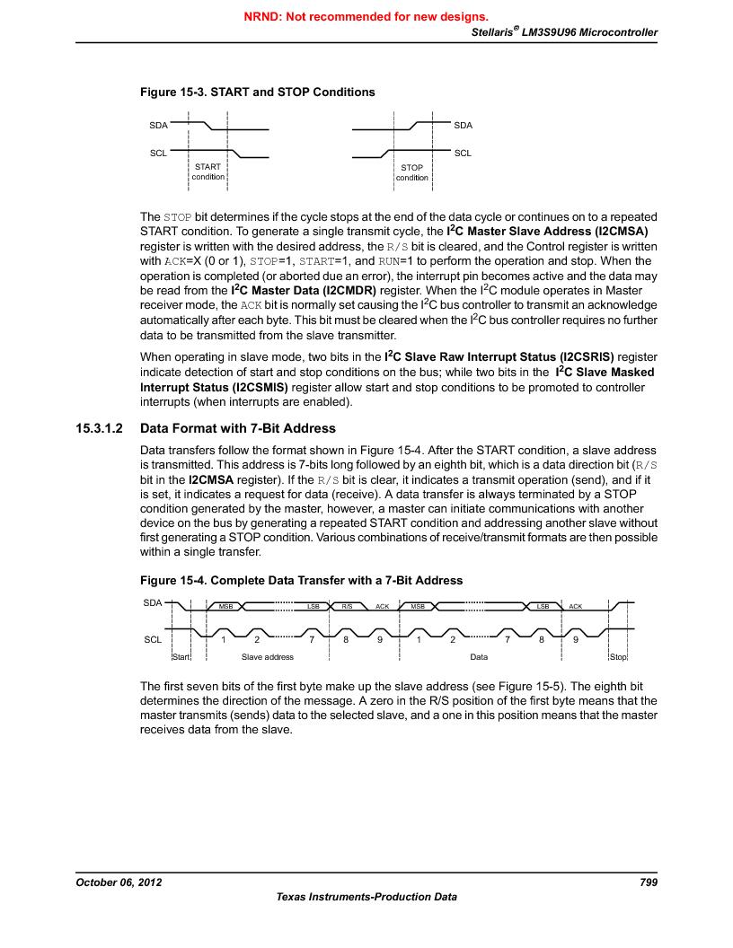 LM3S9U96-IBZ80-A1T ,Texas Instruments厂商,IC ARM CORTEX MCU 384KB 108NFBGA, LM3S9U96-IBZ80-A1T datasheet预览  第799页