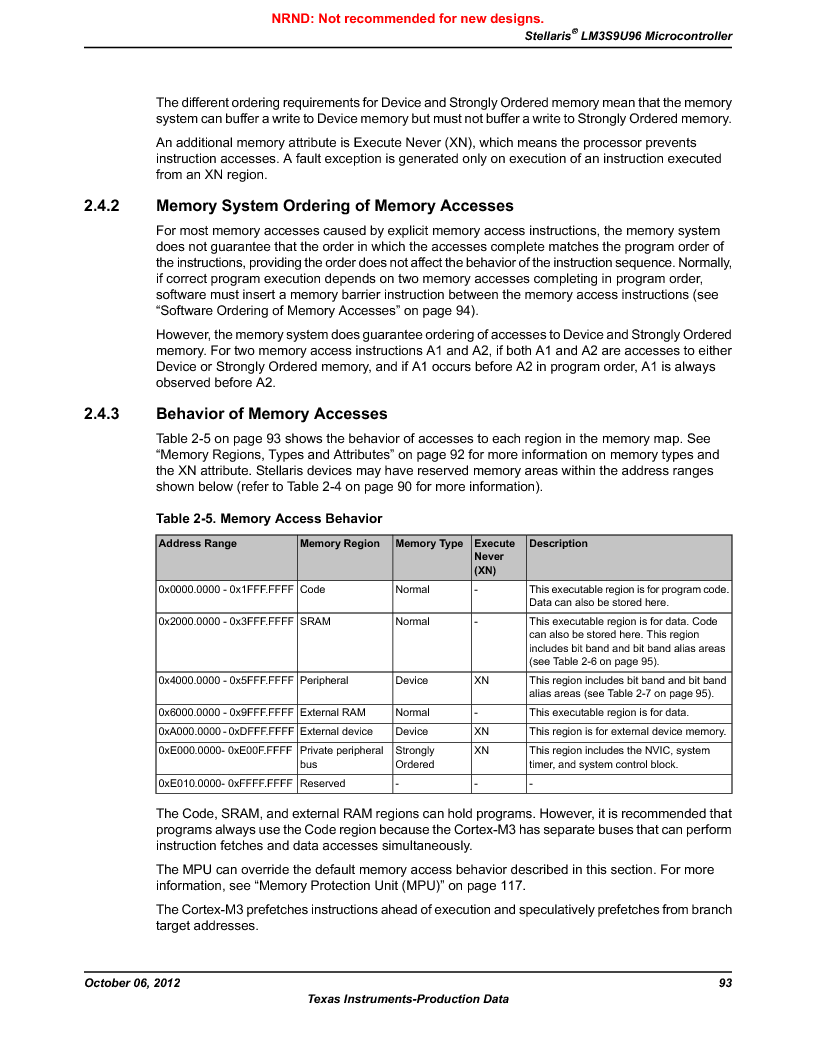 LM3S9U96-IBZ80-A1T ,Texas Instruments厂商,IC ARM CORTEX MCU 384KB 108NFBGA, LM3S9U96-IBZ80-A1T datasheet预览  第93页
