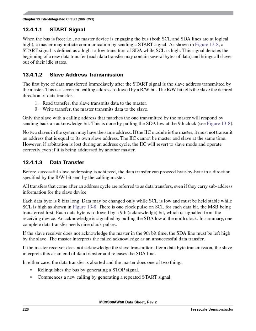 MC9S08AW60CFGER ,Freescale Semiconductor厂商,IC MCU 60K FLASH 4K RAM 44-LQFP, MC9S08AW60CFGER datasheet预览  第226页