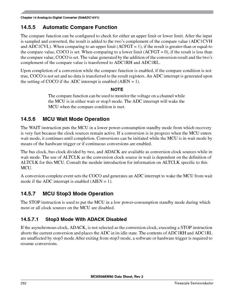 MC9S08AW60CFGER ,Freescale Semiconductor厂商,IC MCU 60K FLASH 4K RAM 44-LQFP, MC9S08AW60CFGER datasheet预览  第252页