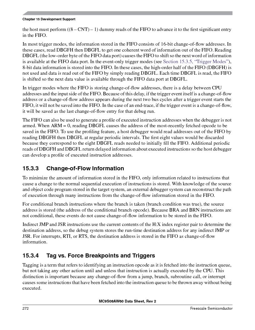 MC9S08AW60CFGER ,Freescale Semiconductor厂商,IC MCU 60K FLASH 4K RAM 44-LQFP, MC9S08AW60CFGER datasheet预览  第272页