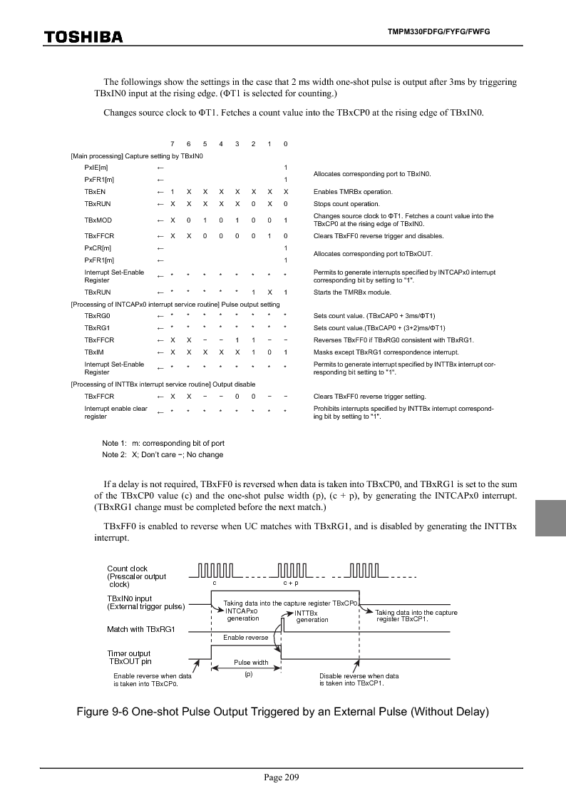 TMPM330FWFG ,Toshiba厂商,IC MICROCONTROLLER, TMPM330FWFG datasheet预览  第229页