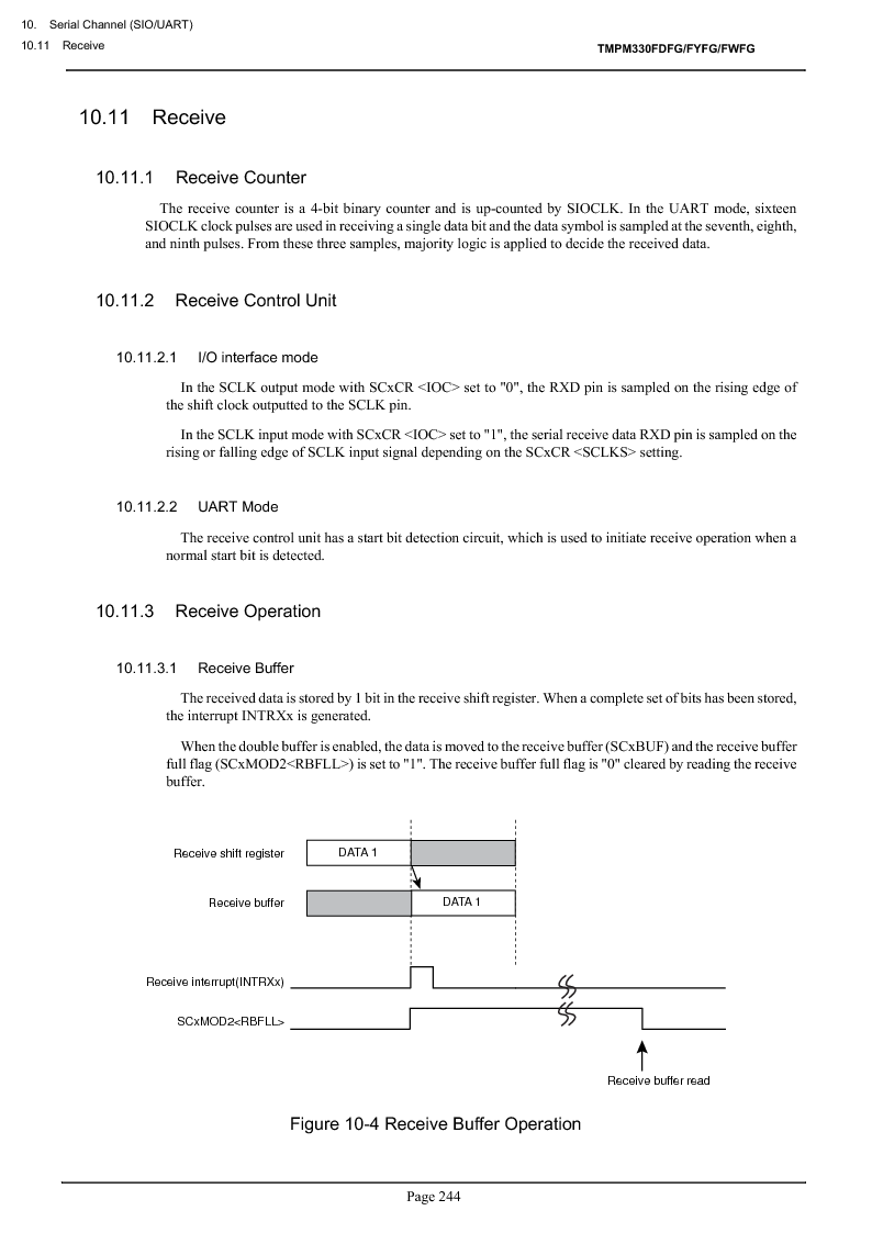 TMPM330FWFG ,Toshiba厂商,IC MICROCONTROLLER, TMPM330FWFG datasheet预览  第264页