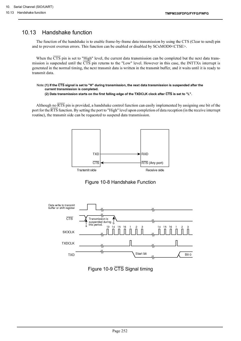 TMPM330FWFG ,Toshiba厂商,IC MICROCONTROLLER, TMPM330FWFG datasheet预览  第272页