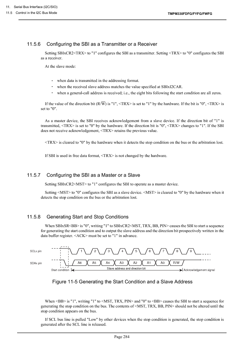 TMPM330FWFG ,Toshiba厂商,IC MICROCONTROLLER, TMPM330FWFG datasheet预览  第304页