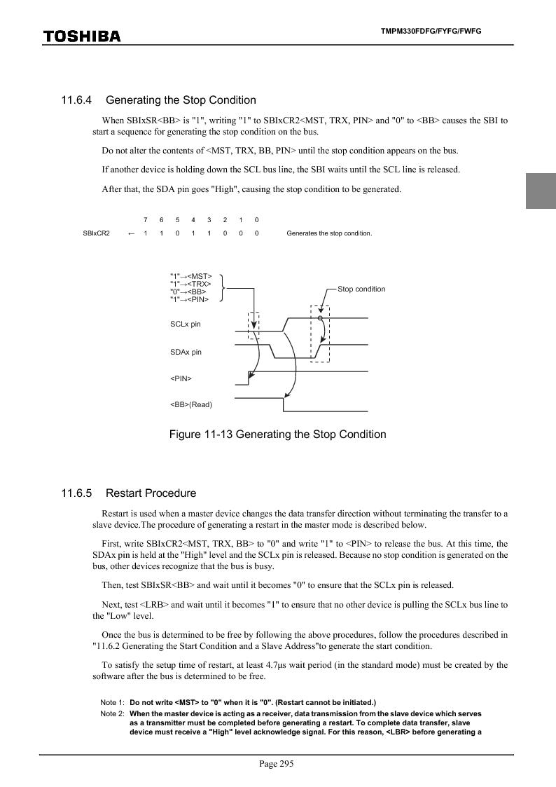 TMPM330FWFG ,Toshiba厂商,IC MICROCONTROLLER, TMPM330FWFG datasheet预览  第315页