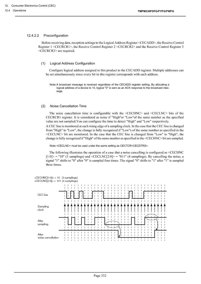 TMPM330FWFG ,Toshiba厂商,IC MICROCONTROLLER, TMPM330FWFG datasheet预览  第352页