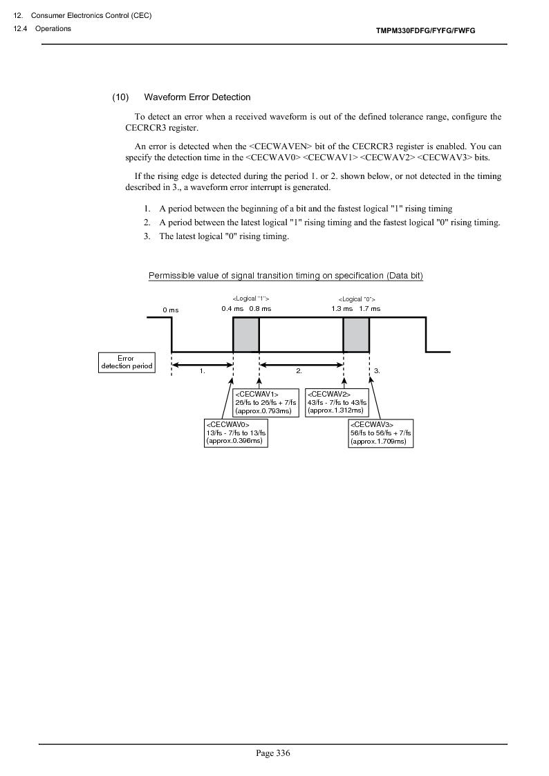 TMPM330FWFG ,Toshiba厂商,IC MICROCONTROLLER, TMPM330FWFG datasheet预览  第356页