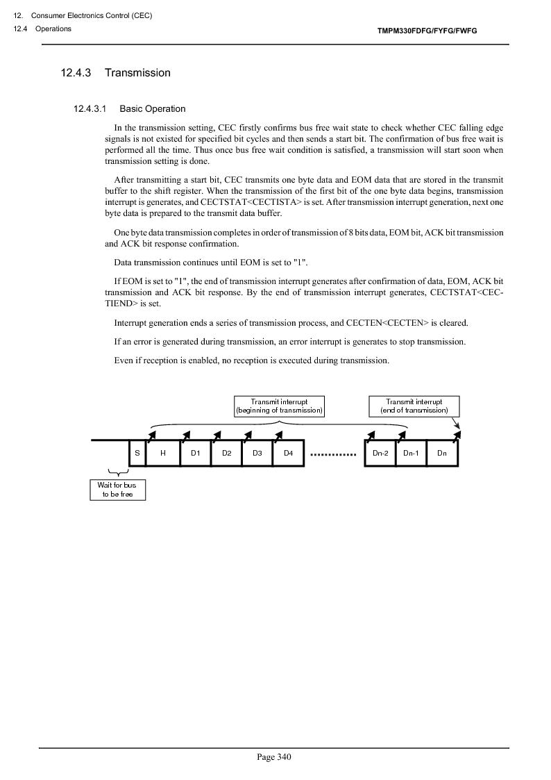 TMPM330FWFG ,Toshiba厂商,IC MICROCONTROLLER, TMPM330FWFG datasheet预览  第360页