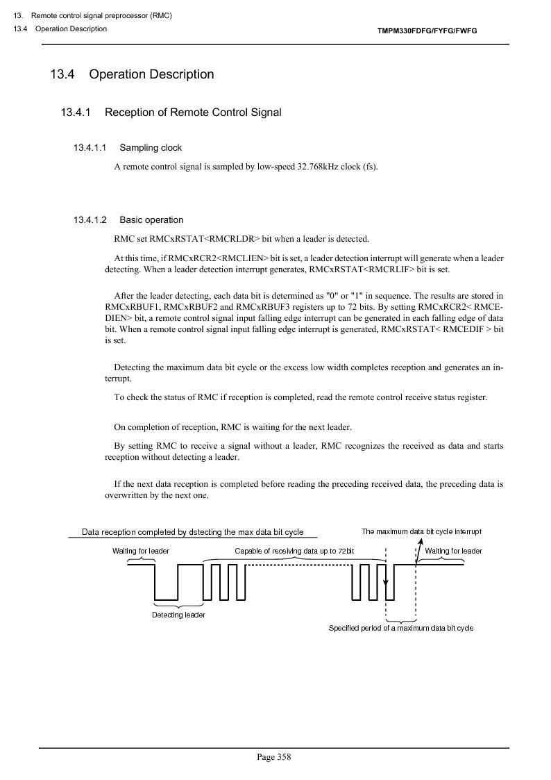 TMPM330FWFG ,Toshiba厂商,IC MICROCONTROLLER, TMPM330FWFG datasheet预览  第378页