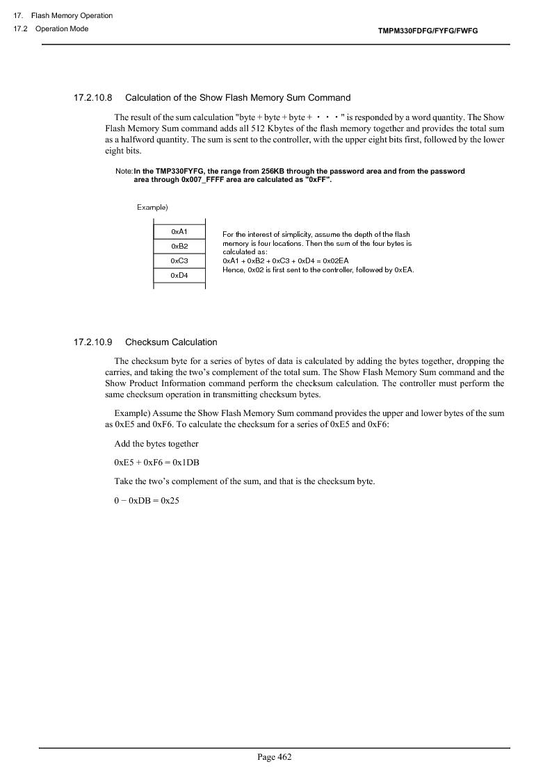 TMPM330FWFG ,Toshiba厂商,IC MICROCONTROLLER, TMPM330FWFG datasheet预览  第482页