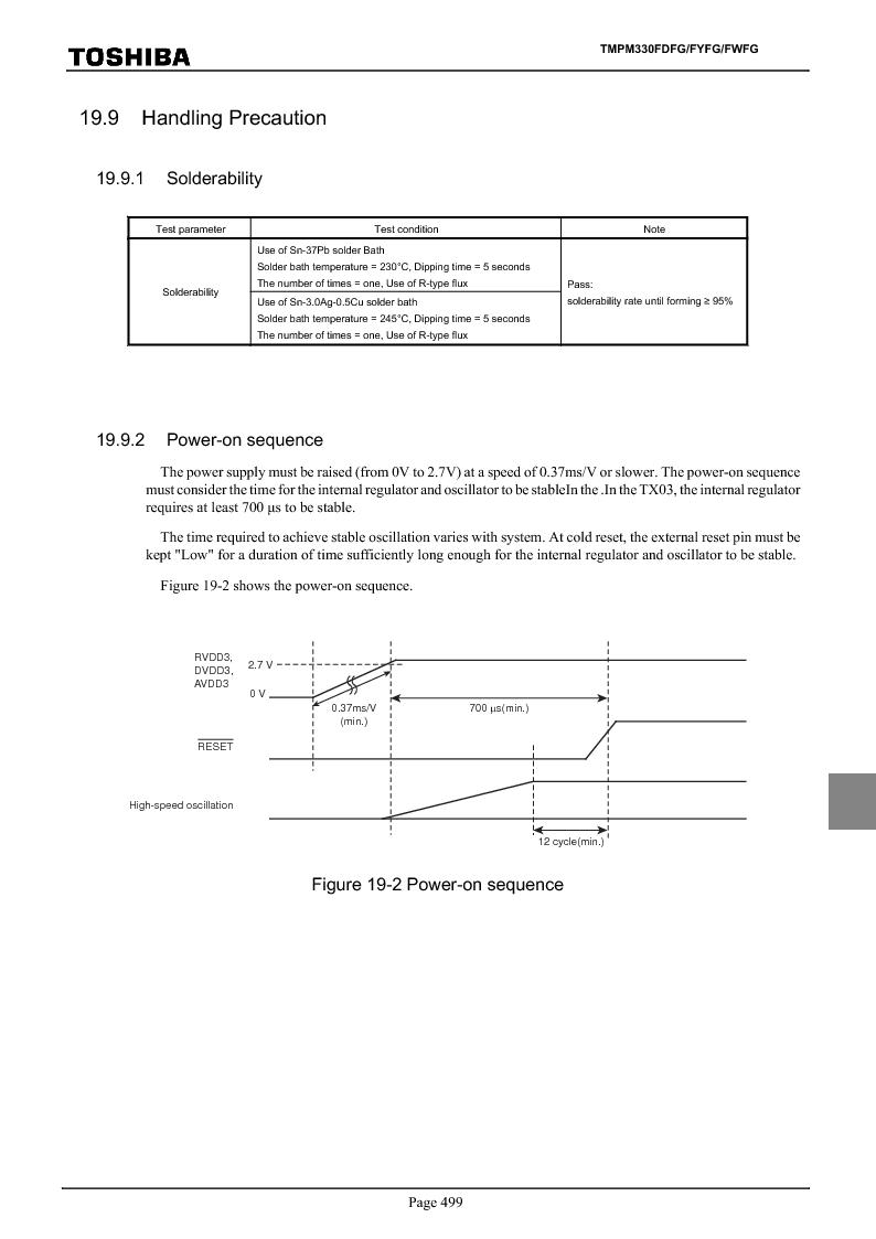 TMPM330FWFG ,Toshiba厂商,IC MICROCONTROLLER, TMPM330FWFG datasheet预览  第519页