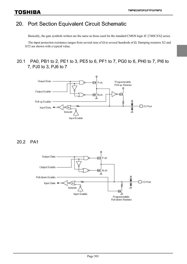 TMPM330FWFG ,Toshiba厂商,IC MICROCONTROLLER, TMPM330FWFG datasheet预览  第521页