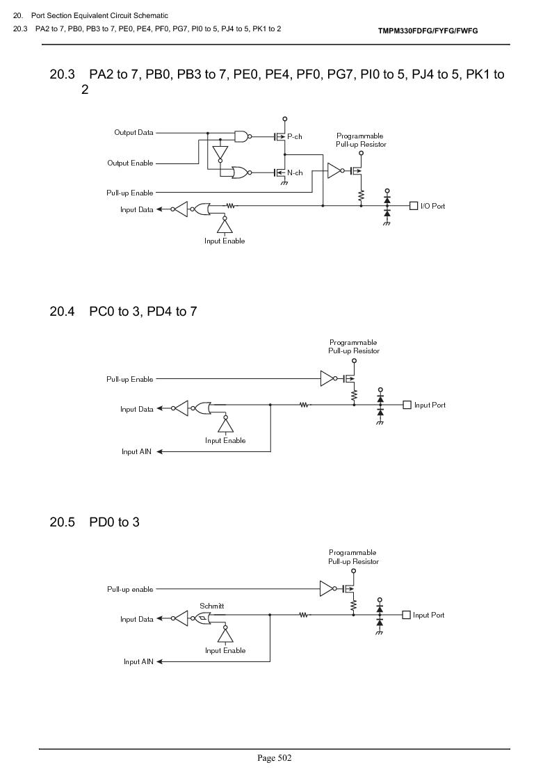 TMPM330FWFG ,Toshiba厂商,IC MICROCONTROLLER, TMPM330FWFG datasheet预览  第522页