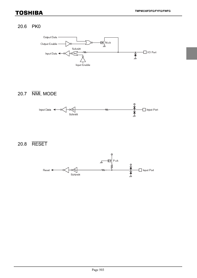 TMPM330FWFG ,Toshiba厂商,IC MICROCONTROLLER, TMPM330FWFG datasheet预览  第523页