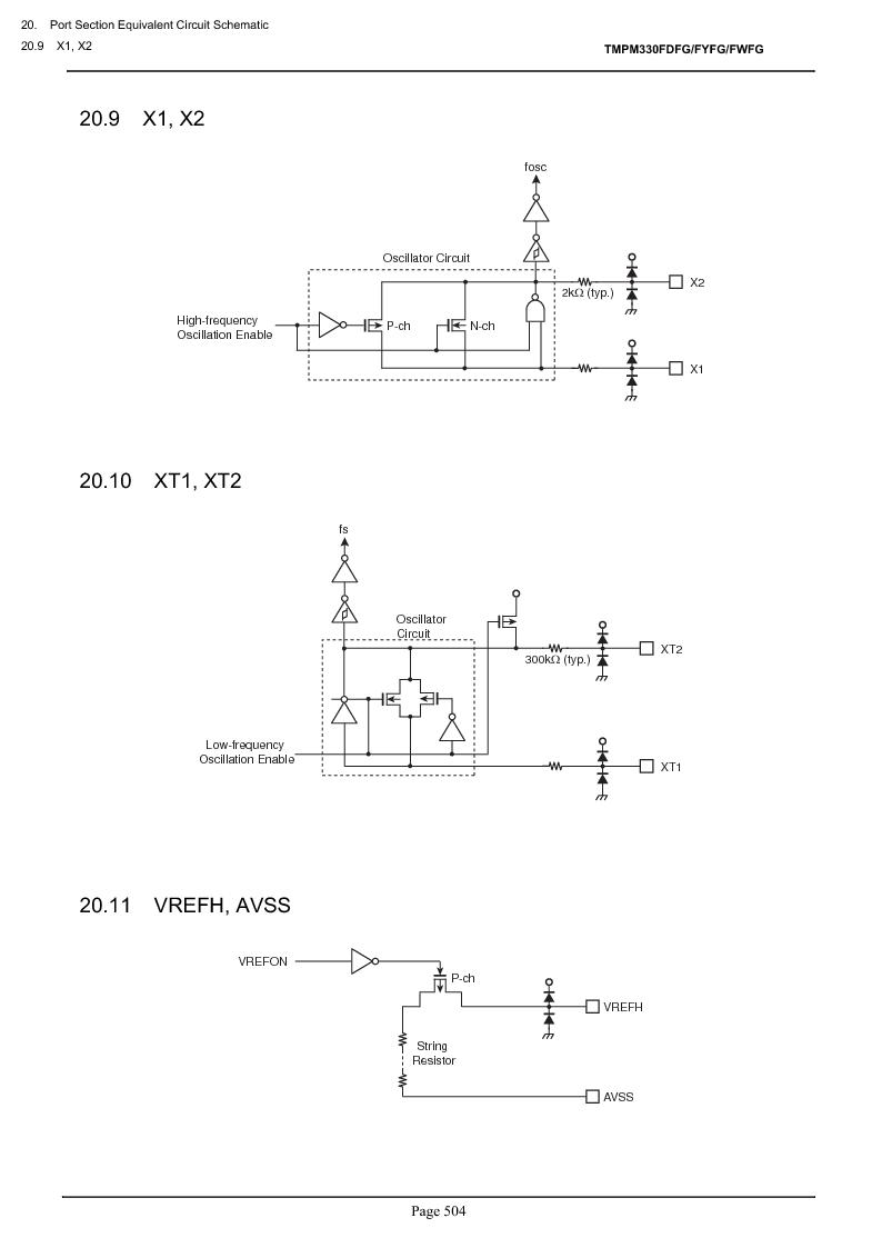 TMPM330FWFG ,Toshiba厂商,IC MICROCONTROLLER, TMPM330FWFG datasheet预览  第524页