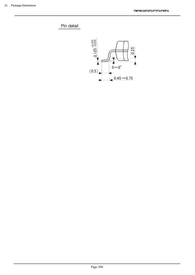 TMPM330FWFG ,Toshiba厂商,IC MICROCONTROLLER, TMPM330FWFG datasheet预览  第526页