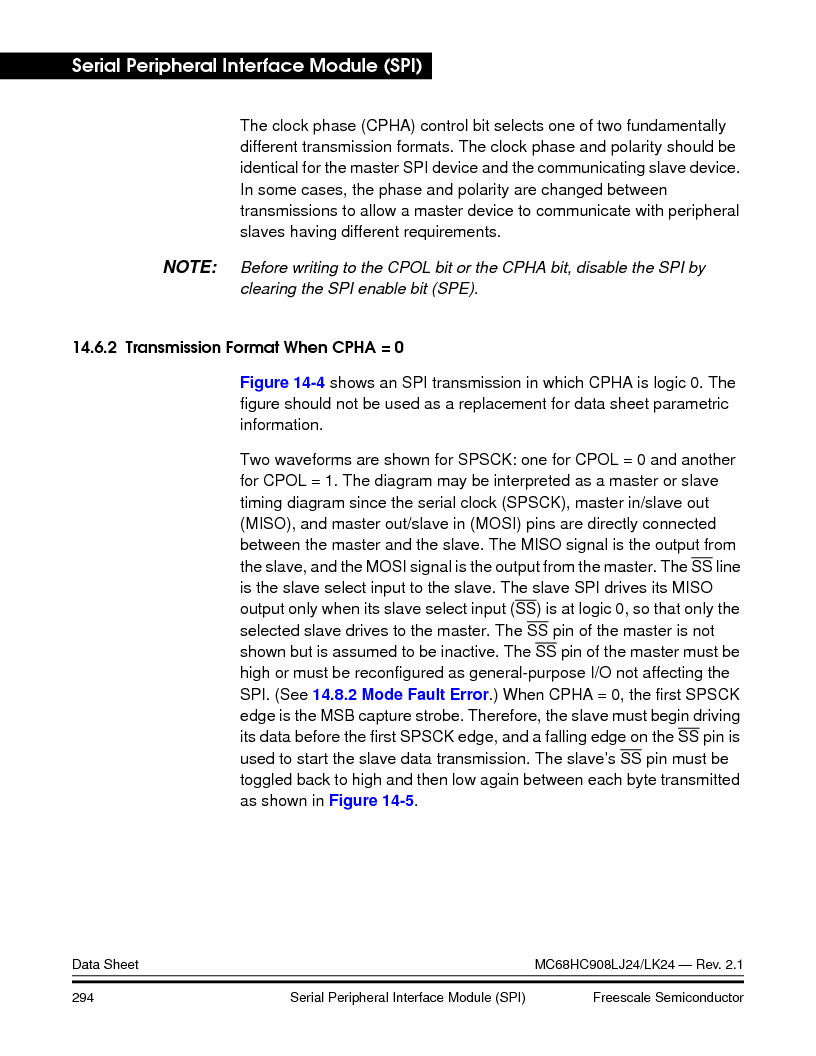MC908LJ24CFUER ,Freescale Semiconductor厂商,IC MCU 24K FLASH 8MHZ SPI 64-QFP, MC908LJ24CFUER datasheet预览  第294页