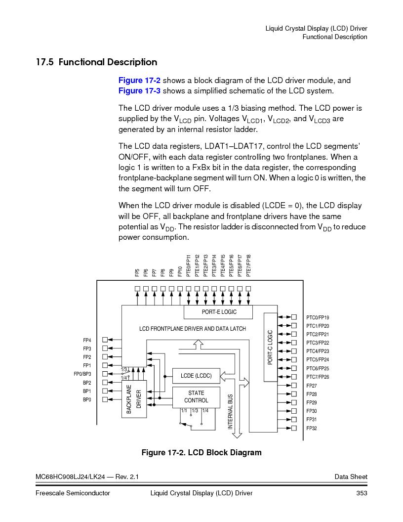 MC908LJ24CFUER ,Freescale Semiconductor厂商,IC MCU 24K FLASH 8MHZ SPI 64-QFP, MC908LJ24CFUER datasheet预览  第353页